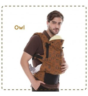 CUDDLE ME - ERGONOMIC SSC BABY CARRIER (ULTIMO) - OWL