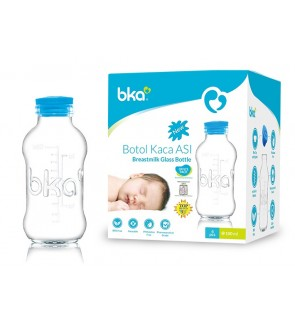 BKA Glass Bottle 3.30z - (4 Pieces)