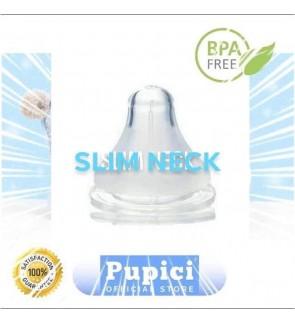 [ PUPICI ] SOFT SILICONE TEAT - SLIM NECK - STANDARD NECK