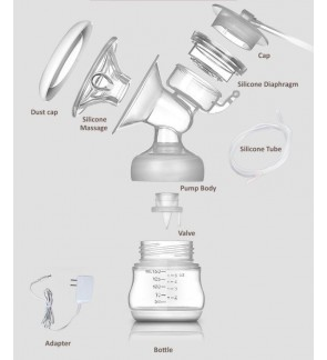 Youha PHANPY Premium Manual Breast Pump & Youha Breast Pump Spare Parts / Youcup Valve / Youha converter / Youha double tubing / Breast shield / Youha pump valve / Youha smart clipper