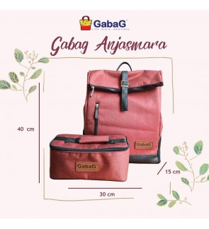 GABAG ANJASMARA BACKPACK SERIES FREE 1 GABAG ICE PACK