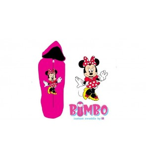 [ BIMBO ] INSTANT SWADDLE (BEDUNG) - MINNIE MOUSE