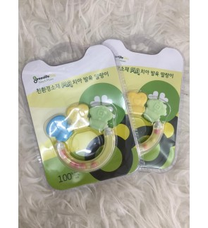 [GREEN LIFE] ECO-FRIENDLY TEETHING TOYS DENTI BABY TEETHER