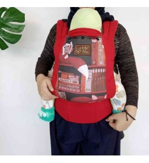 CUDDLE ME LITE : ERGONOMIC SSC BABY CARRIER – FOX LIBRARY
