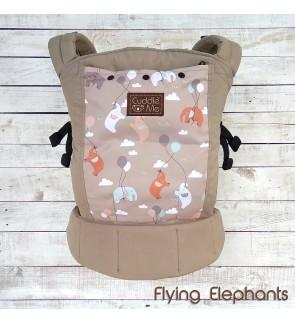 CUDDLE ME LITE : ERGONOMIC SSC BABY CARRIER – FLYING ELEPHANTS