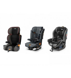 CHICCO CAR SEAT [ MyFit Harness + Booster, KidFit Booster Car Seat, NextFit Zip Max ]