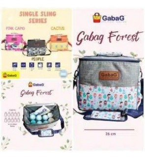 GABAG FOREST SINGLE SLING SERIES FREE 2 GABAG ICE PACK