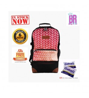 READY STOCK GABAG RAMADA BACKPACK SERIES FREE 2 GABAG ICE PACK
