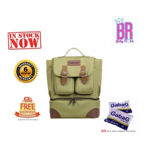 READY STOCK GABAG LEMON BACKPACK SERIES FREE 2 GABAG ICE PACK