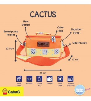 READY STOCK GABAG CACTUS SINGLE SLING SERIES FREE 2 GABAG ICE PACK
