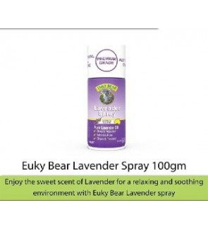 Euky Bear Antibacterial Disinfectant Lavender Spray (KILLS GERMS 99.99%)