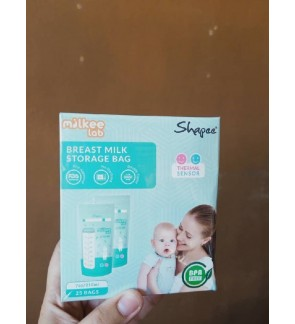 Shapee Thermal Sensor Breastmilk Storage Bag 7oz (25pcs)