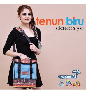 READY STOCK GABAG TENUN BIRU SLING SERIES FREE 2 GABAG ICE PACK