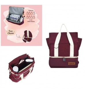 GABAG ROSE COOLER BAG - DOUBLE SLING SERIES