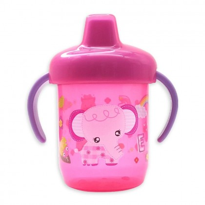 BEE SON BABY DRINKING SPOUT 250ML CUP BASIC TRAINING WITH HOLDER