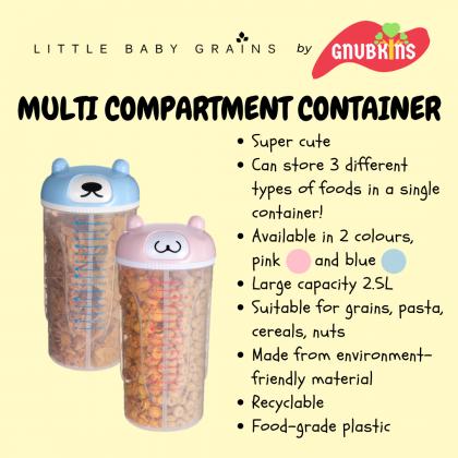 LITTLE BABY GRAIN - MULTI COMPARTMENT RICE CONTAINER