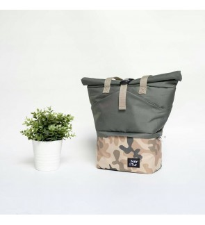 [ NerTur ] Tother - Camo Cream in Green ( Cooler Bag / Milk Storage Bag )
