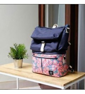 NerTur All Day -Fleur Pink in Navy