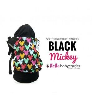 Nana Baby Carrier |Standard Size - Black Mickey