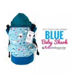 Nana Baby Carrier |Standard Size - Blue Baby Shark
