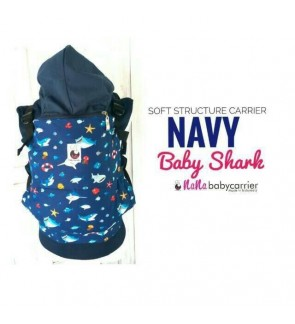 Nana Baby Carrier |Standard Size - Navy Baby Shark