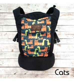 Cuddle Me - Ergonomic SSC Baby Carrier (Lite) - Cats