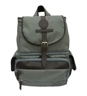 BabyGO Inc Dome Backpack -Grey