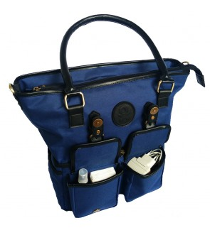 BabyGoInc Classic Tote- Blue