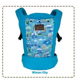 CUDDLE ME - ERGONOMIC SSC BABY CARRIER (LITE) -  Winter City