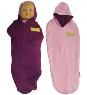 Bedung Hanaroo  -Purple baby pink