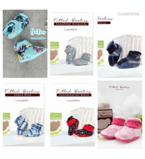 CUDDLE ME - FITTED BOOTIES / BABY BOOTIES / BABY SHOES (12CM)