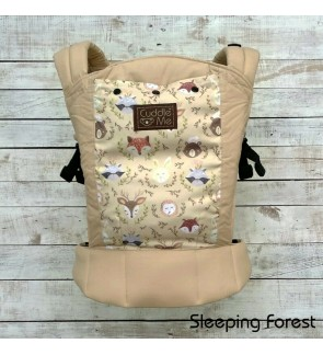 CUDDLE ME - ERGONOMIC SSC BABY CARRIER (LITE) - Sleeping Forest