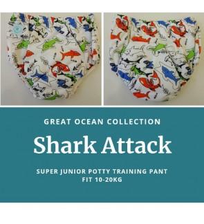 SUPER JUNIOR POTTY TRAINING - SHARK ATTACK