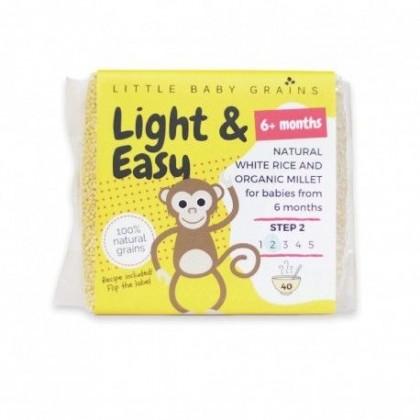 LITTLE BABY GRAINS LIGHT & EASY 6M+ (STEP 2)
