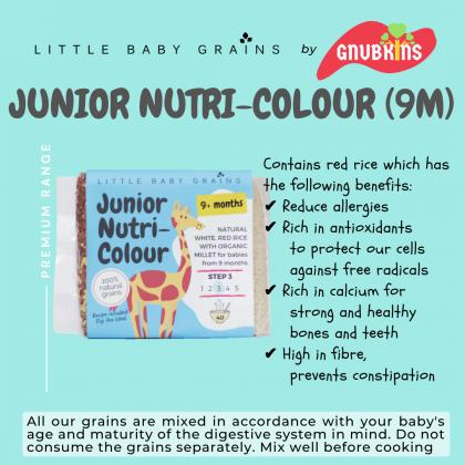 LITTLE BABY GRAINS JUNIOR NUTRI-COLOUR 9M+ (STEP 3)