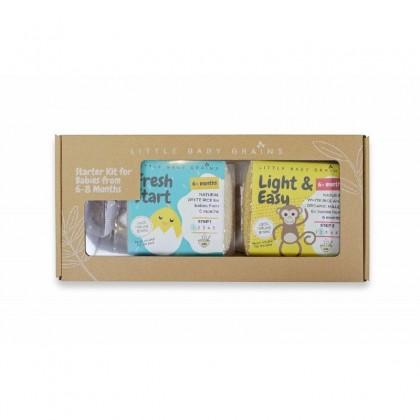 LITTLE BABY GRAIN : Starter Kit for Babies from 6-8 Months