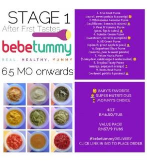 Bebetummy Stage 1 - (6.5+ Month)