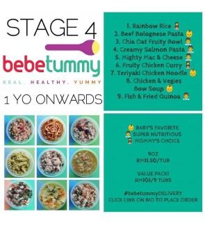 Bebetummy Stage 4 - (1 Years)