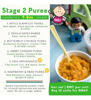 Baby Eats by Justlixa (BEBJ) - Stage 2