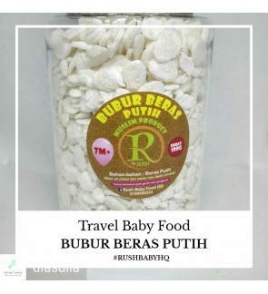 Baby Rice Flakes by Rush Babyfood