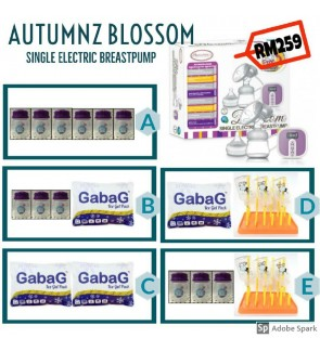 Autumnz Blossom Breastpump - Set